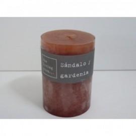 Vela Aroma Sandalo Y Gardenia