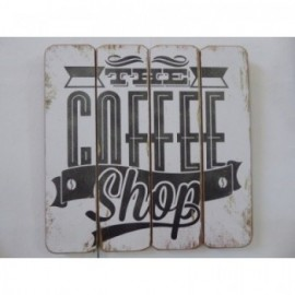 Cartel 40*40 cm Coffe Shop