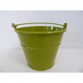 Cubo Metal 11*7*9 cm Verde