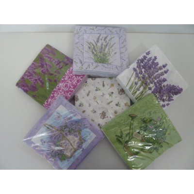 Servilletas de papel decoradas 33 33 cm el montecito - Servilletas de papel decoradas para manualidades ...