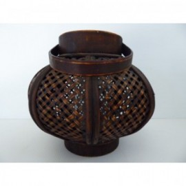 Fanal Bambu 23*22 cm Marron