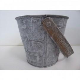 Zinc Bucket Gris