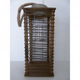 Farol Lampara Petrona 20*20*48 cm
