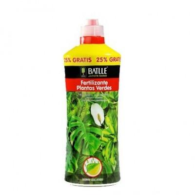 Fertilizante Plantas verdes 1250 ml Batlle