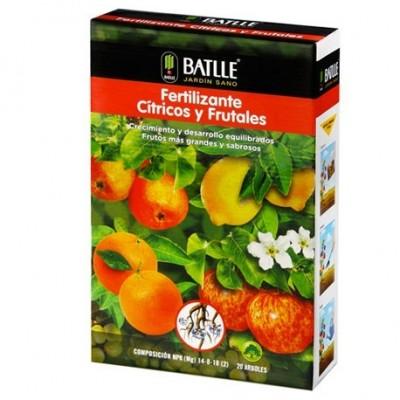 Fertilizantes Cítricos y frutales 1,5kg Batlle