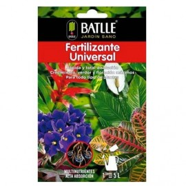 Fertilizante universal sobre para 5 L Batlle