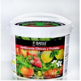 Fertilizante Cítricos y frutales cubo 5kg Batlle