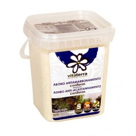 Abono Antiamarrona Coniferas 1 KG Vitaterra