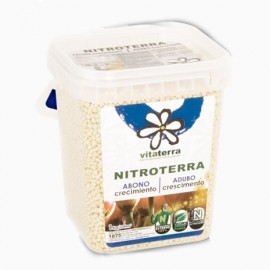 Abono de crecimiento Nitroterra 1kg cubo Vitaterra