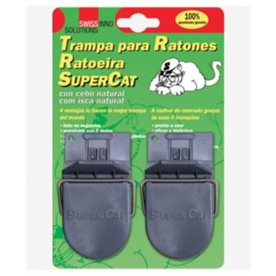 Ratonera plastico muelle C/Cebo Ratas