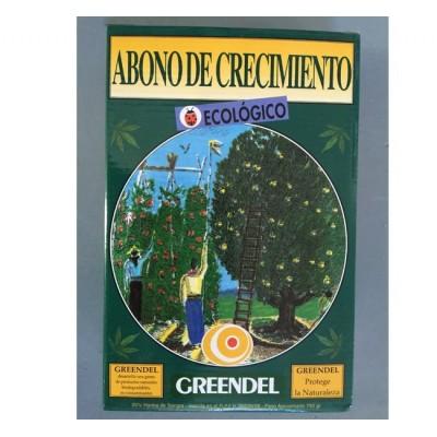 Abono Crecimiento Ecológico 750g Greendel
