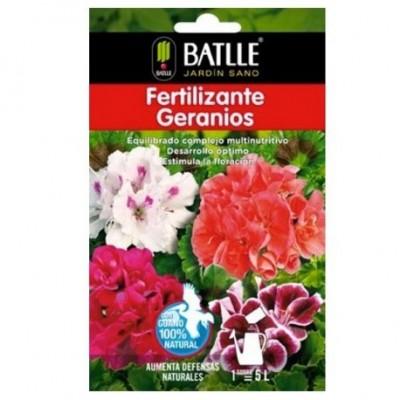 Fertilizante geranios sobre para 5 L Batlle