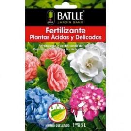 Fertilizante plantas acidas sobre para 5 L Batlle